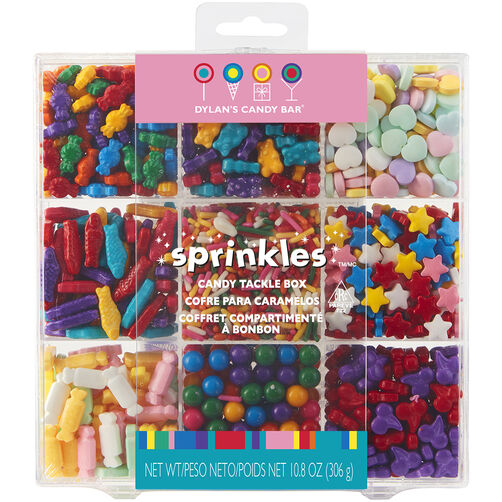 Dylan's Candy Bar Sprinkle Tackle Box
