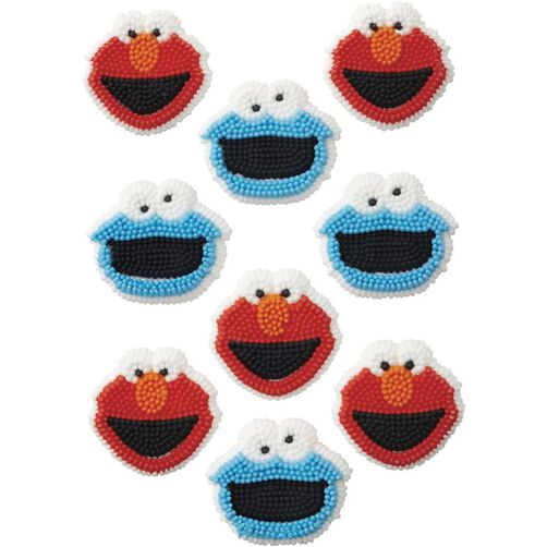 Wilton Sesame Street Candy Decorations
