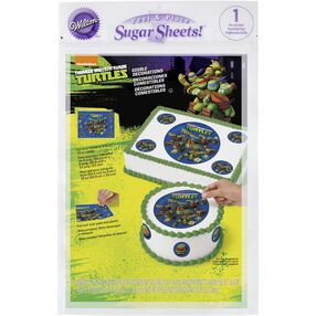 Teenage Mutant Ninja Turtles Edible Images Cake Decorating Kit