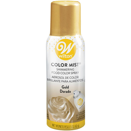 Color Mist Gold Food Coloring Spray