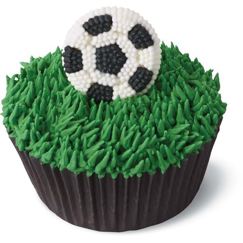Soccer Ball Edible Sugar Decorations Prepossessing Soccer Ball Candy Decorations  Wilton Inspiration Design