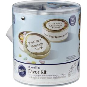 Round Tin Favor Kit