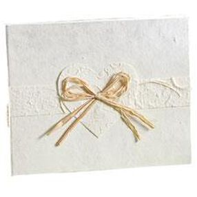 Eco-Occasions Natural Paper Guest Book