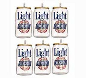 Beer Cans Candle Set