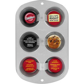 Recipe Right 6 Cup Muffin Pan