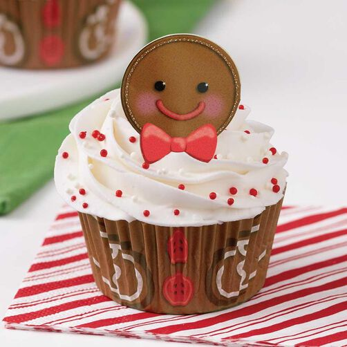 Gingerbread Boy Cupcake Decorating Kit