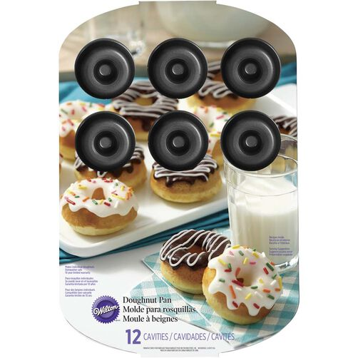 12 Cavity Medium Donut Pan