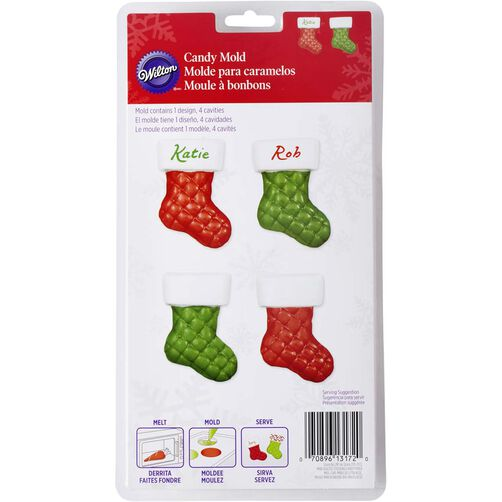 Wilton Quilted Stocking Candy Mold