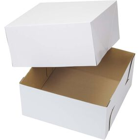 12 x 12 Corrugated Cake Box