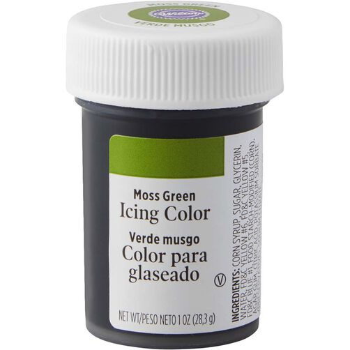 Moss Green Gel Food Coloring Icing Color | Wilton