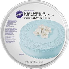 "Decorator Preferred 12"" Round Cake Pan"