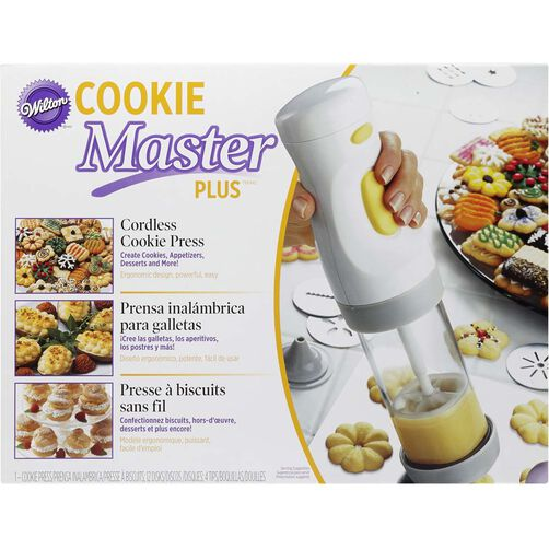 Cookie Master Plus Cordless Cookie Press