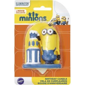 Minions Birthday Candle
