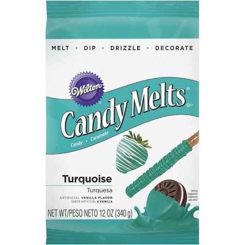 Turquoise Candy Melts Candy