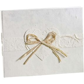 Eco-Occasions Natural Paper Wedding Guest Book
