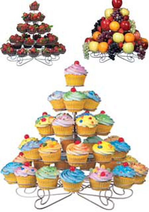 Cupcakes 'N More 38 Count Large Dessert Stand