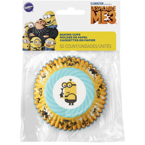 Despicable Me 3 Cupcake Liners with Minion