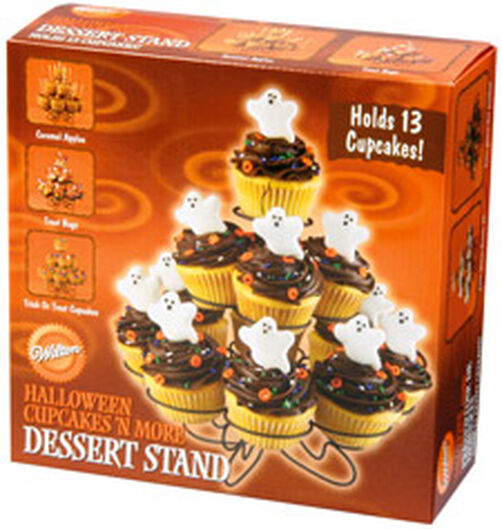 Halloween Cupcakes 'N More Dessert Stand