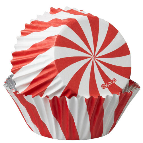 ColorCup Peppermint Stripe Cupcake Liners