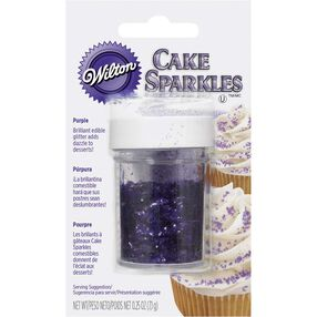 Wilton Purple Cake Sparkles