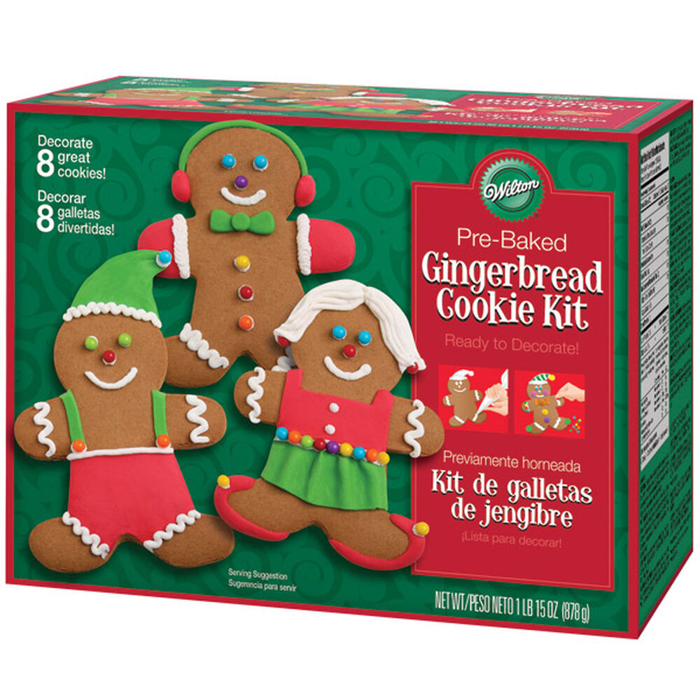 Gingerbread Boy Cookie Decorating Kit Wilton