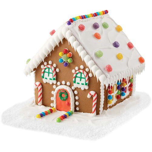 Door Window Gingerbread House Decorating Candy Wilton