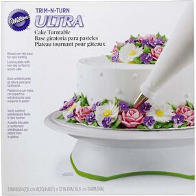 Trim 'n Turn ULTRA Cake Decorating Turntable