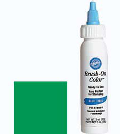 Green Brush-On Color