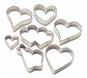 Hearts Metal Cutter Set