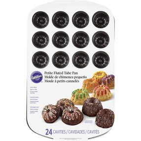 Wilton Cake Pans - Mini Fluted Tube Cake Pan