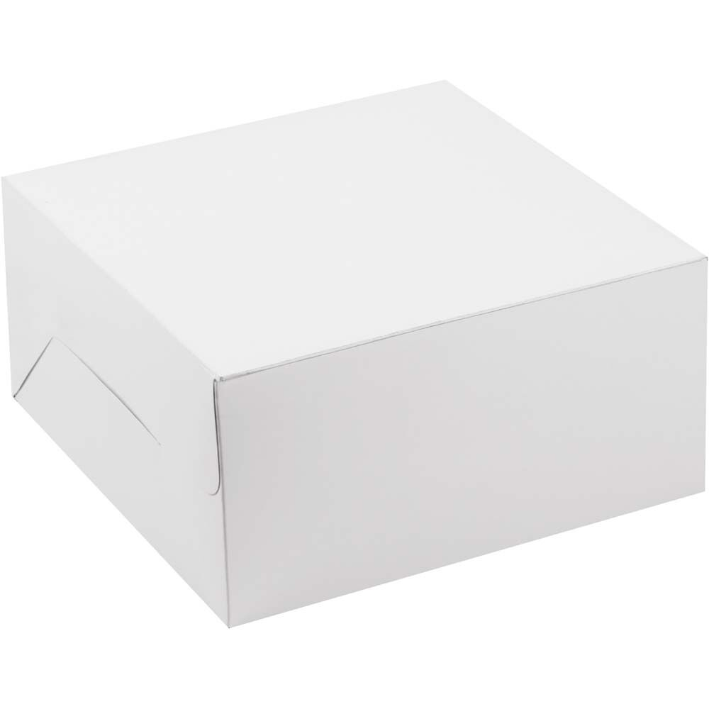 "10x10x5"" Plain Cake Box 