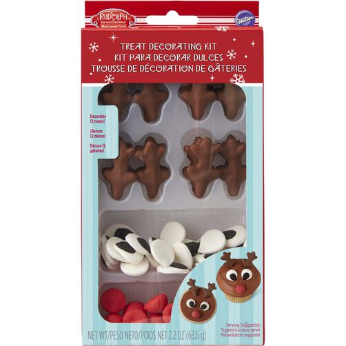 Wilton Rudolph the Red-Nosed Reindeer Cupcake Decorating Kit
