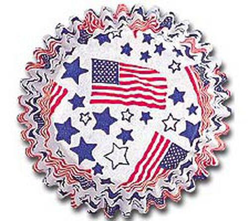 Stars & Stripes Baking Cups