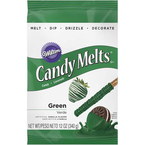 Green Candy Melts Candy
