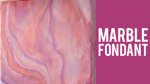 How to Marble Fondant