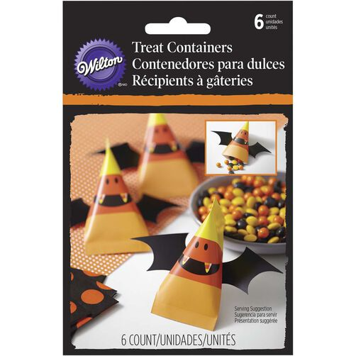 Candy Corn Treat Containers