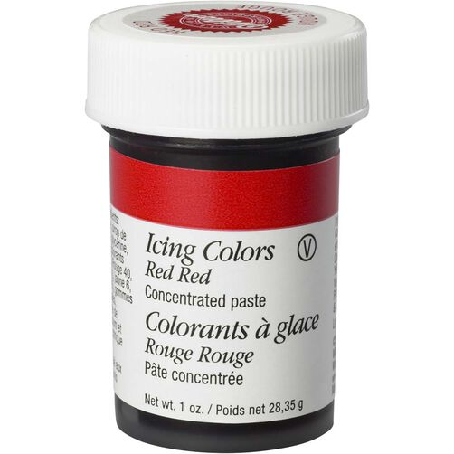 Red-Red Gel Food Coloring Icing Colors | Wilton