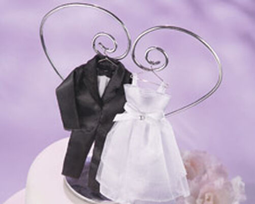 Wedding Gown & Tuxedo Wedding Topper