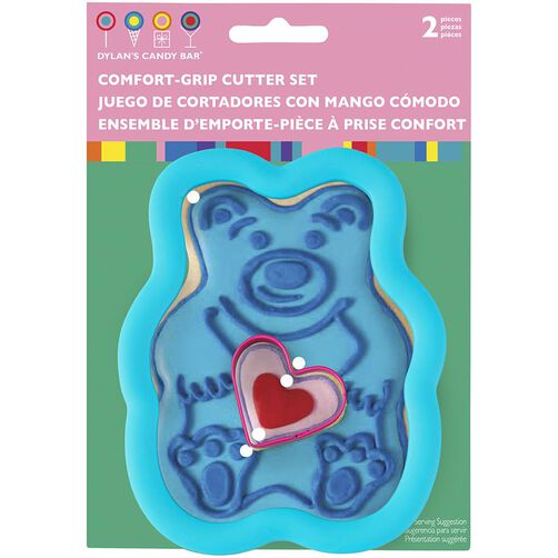 Dylan's Candy Bar Bear with Heart Cookie Cutter Set
