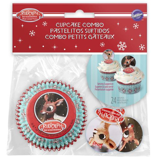 Rudolph the Red-Nosed Reindeer Cupcake Decorating Kit