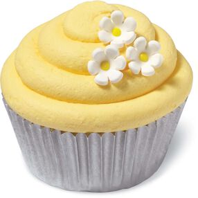 Daisy Mini Icing Decorations