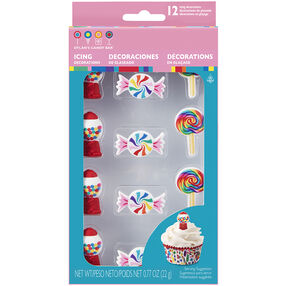 Dylan's Candy Bar Assorted Royal Icing Decorations