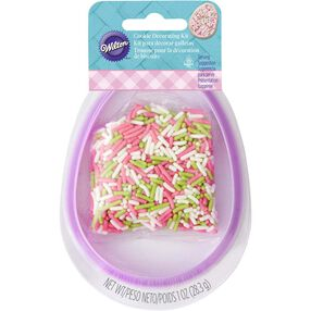 Easter Egg Cookie Decorating Set with Sprinkles