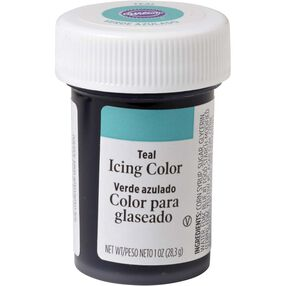 Teal Gel Food Coloring Icing Color
