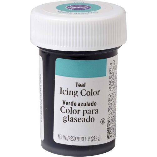 Teal Gel Food Coloring Icing Color | Wilton