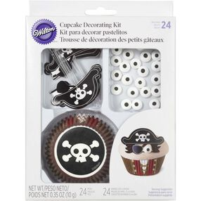 Pirate Cupcake Decorating Kit