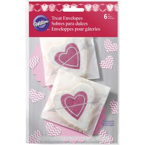 Heartfelt Valentine Treat Envelopes