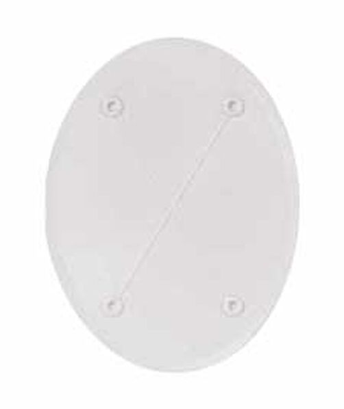 8 1/2 x 6 in. Oval Separator Plate