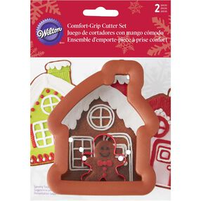 Gingerbread House and Boy Cookie Cutter Set