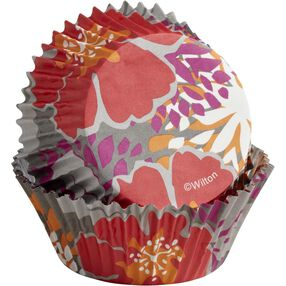 ColorCups Colorful Flowers Cupcake Liners